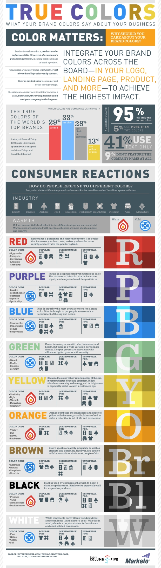 True Colours Infographic